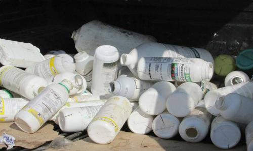 Avanza proyecto de gestión de residuos plásticos en campos agrícolas del Maule