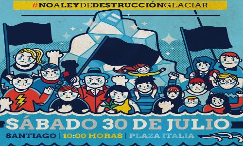 Marcha en Defensa de los Glaciares