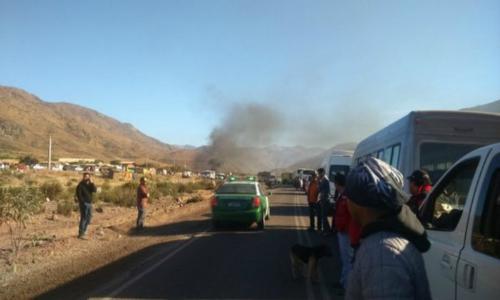 Pobladores y minera Linderos llegan a buen puerto tras seis días de manifestaciones