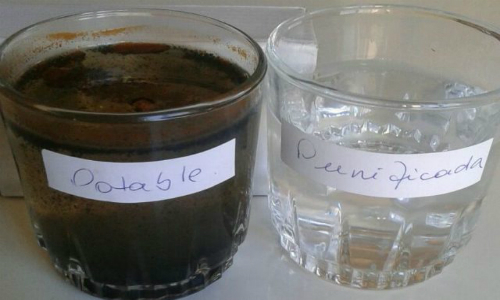 Vecinos de Isla de Maipo acusan a Aguas Andinas que no cumpliría con estándares mínimos en pureza del agua potable