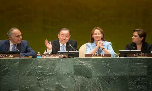 Acuerdo sobre Cambio Climático avanza hacia una pronta entrada en vigor, afirma la ONU