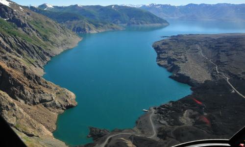 Lago Laja en mínimos históricos pone presión por el uso de sus aguas