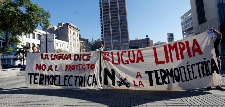 La Ligua levanta movimiento contra central termoeléctrica Doña Carmen