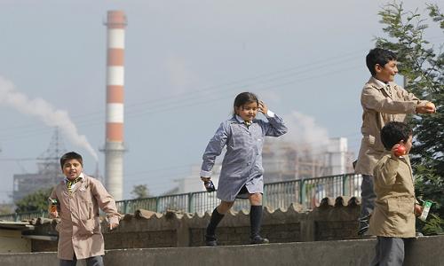Activan monitoreo por emanación de gas en zona industrial