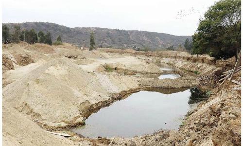 DGA alerta de peligrosidad en el río Aconcagua por extracción de áridos