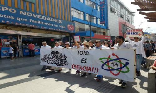 Marcha por la ciencia saca a la calle a miles de investigadores en el mundo