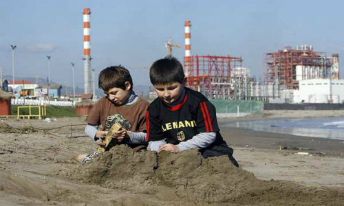 Zonas de sacrificio ambiental: los niños de Puchuncaví, otra vez