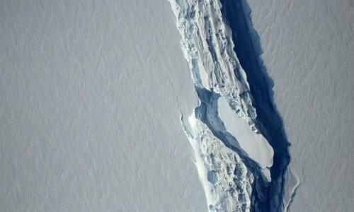 ¿Qué pasará cuando se desprenda el inmenso iceberg de la plataforma Larsen C en Antártica?