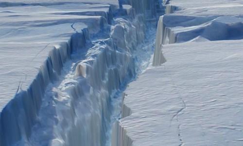 ¿Hacia dónde se dirige el iceberg que se acaba de separar de la Antártica?