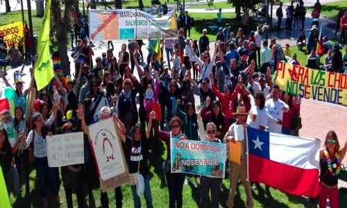 La Serena se llena de color con multitudinaria e inclusiva marcha apoyando el rechazo a Dominga