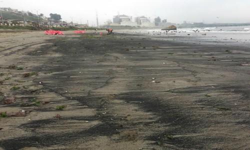 Varamientos de carbón en Ventanas: una situación de abandono