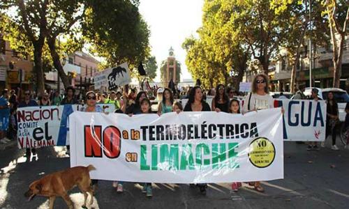 La termoeléctrica en Limache que podría sepultar el 'legado verde' de Bachelet