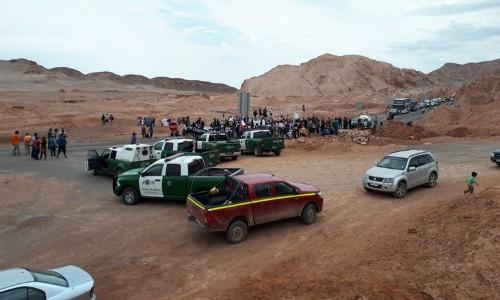 Consejo de Pueblos bloqueó acceso a San Pedro por acuerdo Corfo-SQM