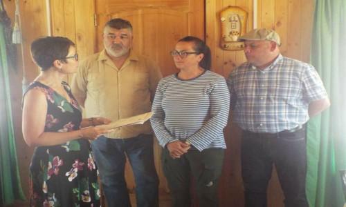 Apoyo de Diputada Alemana a Verónica Vilches de Cabildo