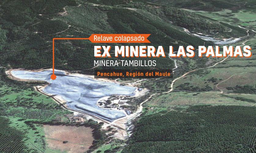 Minera SCM Tambillos no cumple con sentencia ambiental tras colapso de Tranque de Relaves en 2010