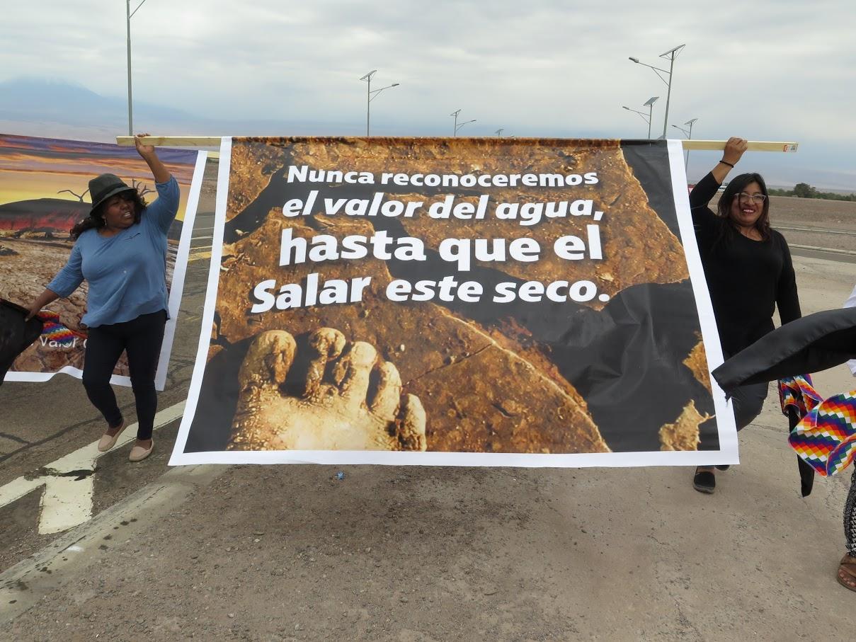 """Ciudadanos de Atacama se organizan en """"defensa"""" del litio"""