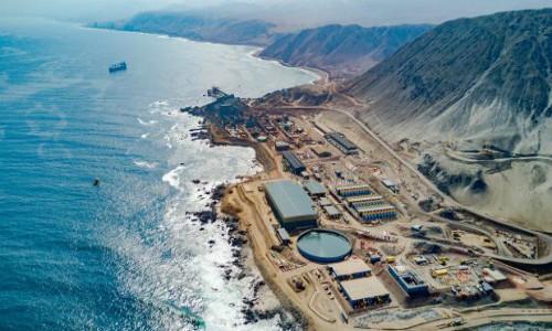 Escondida identifica a nueva planta desalinazadora como el centro de su estrategia hídrica 2018-2030