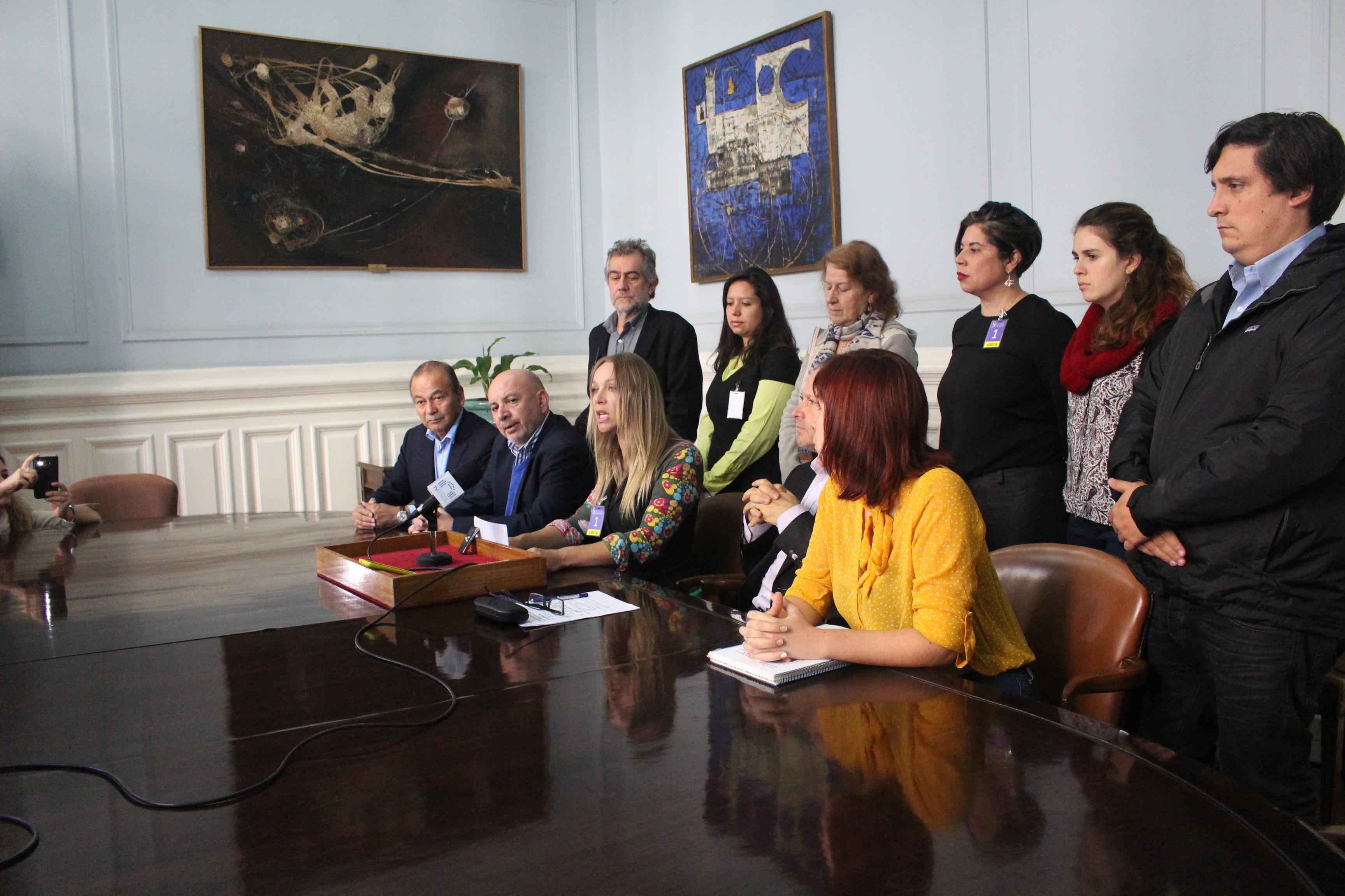 Parlamentarios y ONG's llaman al Gobierno a rechazar uso del carbón y tronaduras en Isla Riesco