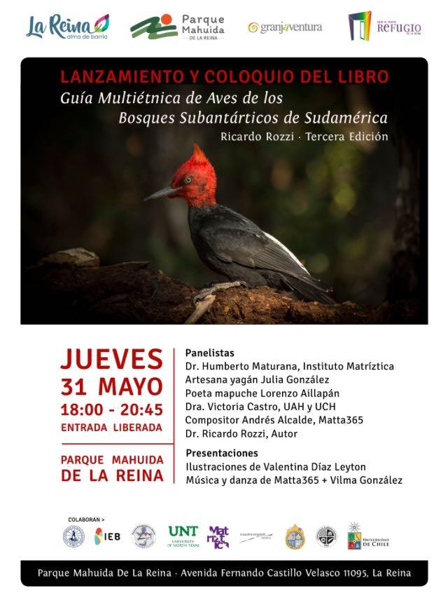 Lanzamiento de la Tercera Edición de la Guía Multiétnica de Aves