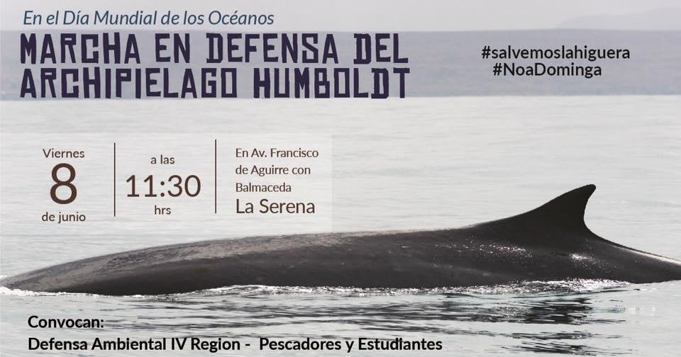 Marcha en Defensa del Archipiélago Humboldt