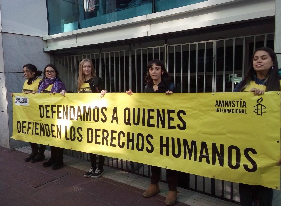Amnistía Internacional pide a fiscal regional de Valparaíso proteger a activistas de Modatima