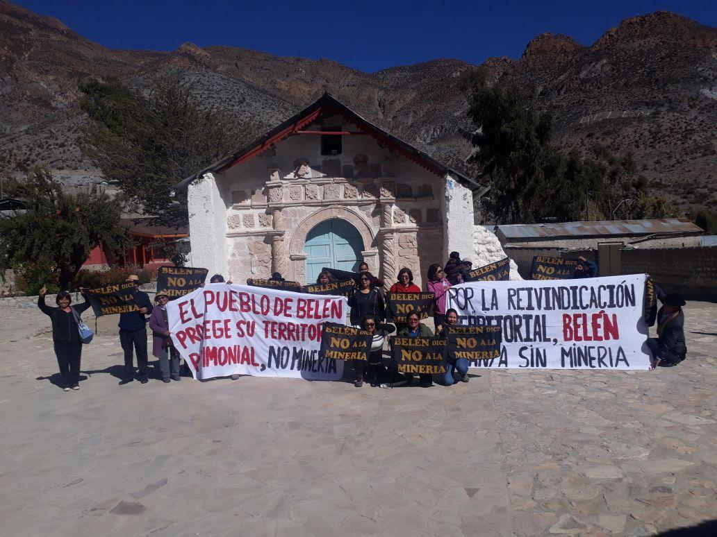 Arica: Pueblo de Belén se moviliza contra proyecto minero