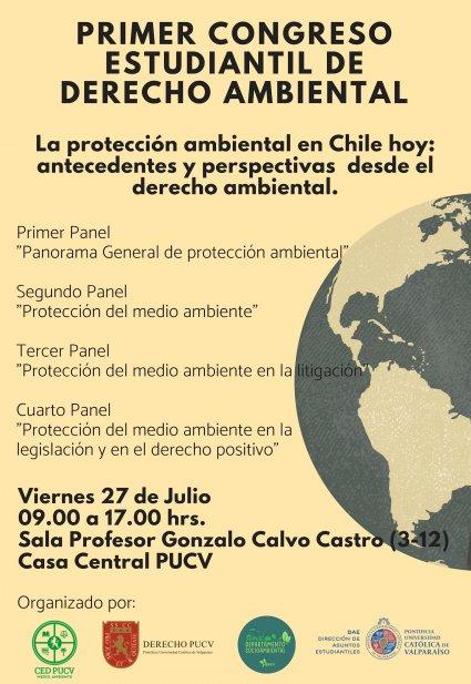 Primer Congreso Estudiantil de Derecho Ambiental