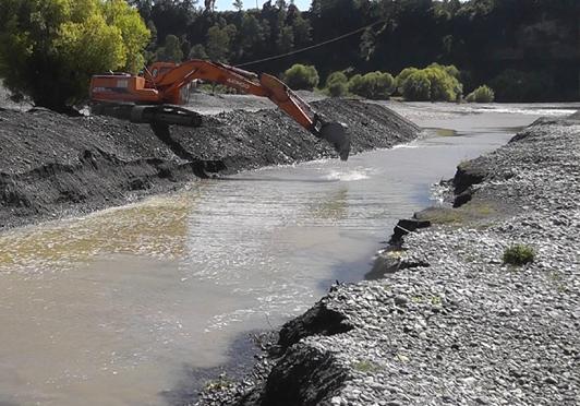 Crean mesa para recuperar al Río Rahue tras extracción de áridos