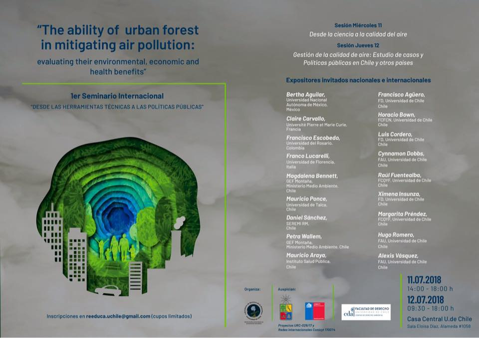 Seminario Internacional: Contaminación Atmosférica