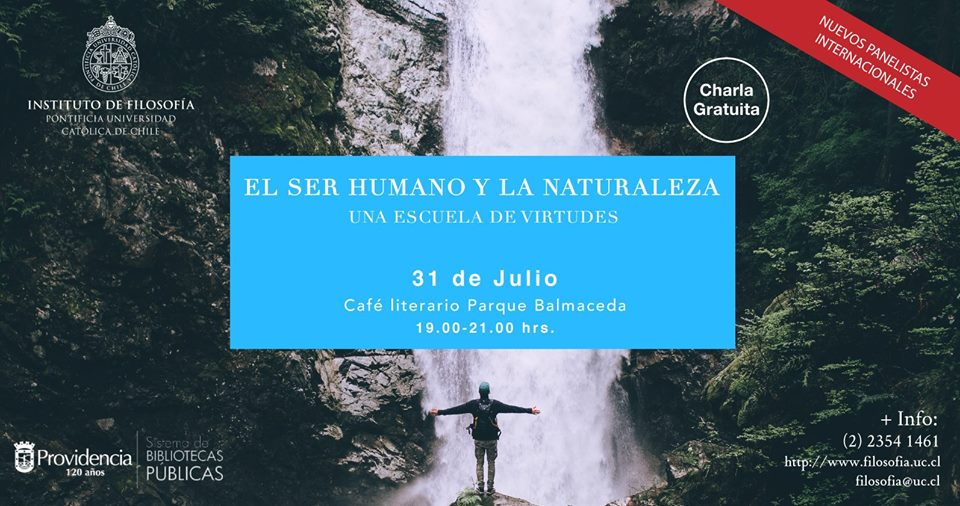Charla: Ser humano y Naturaleza