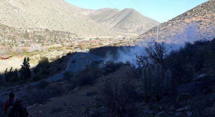 Vecinos de Cuncumén que protestan por contaminación de Minera Los Pelambres acusan represión policial