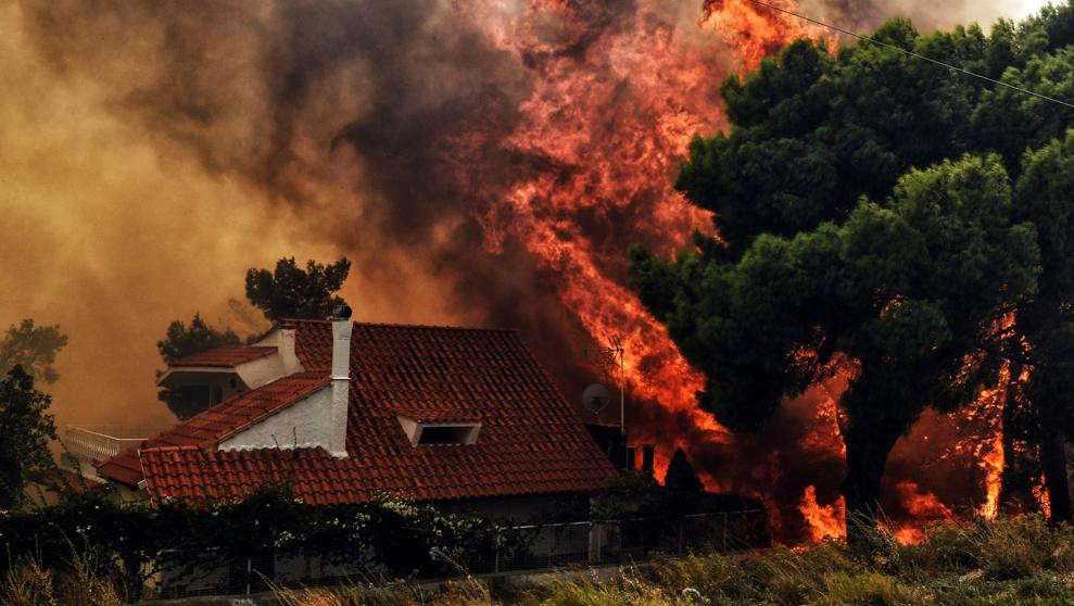Histórica ola de calor e incendios causa estragos en Europa y Asia