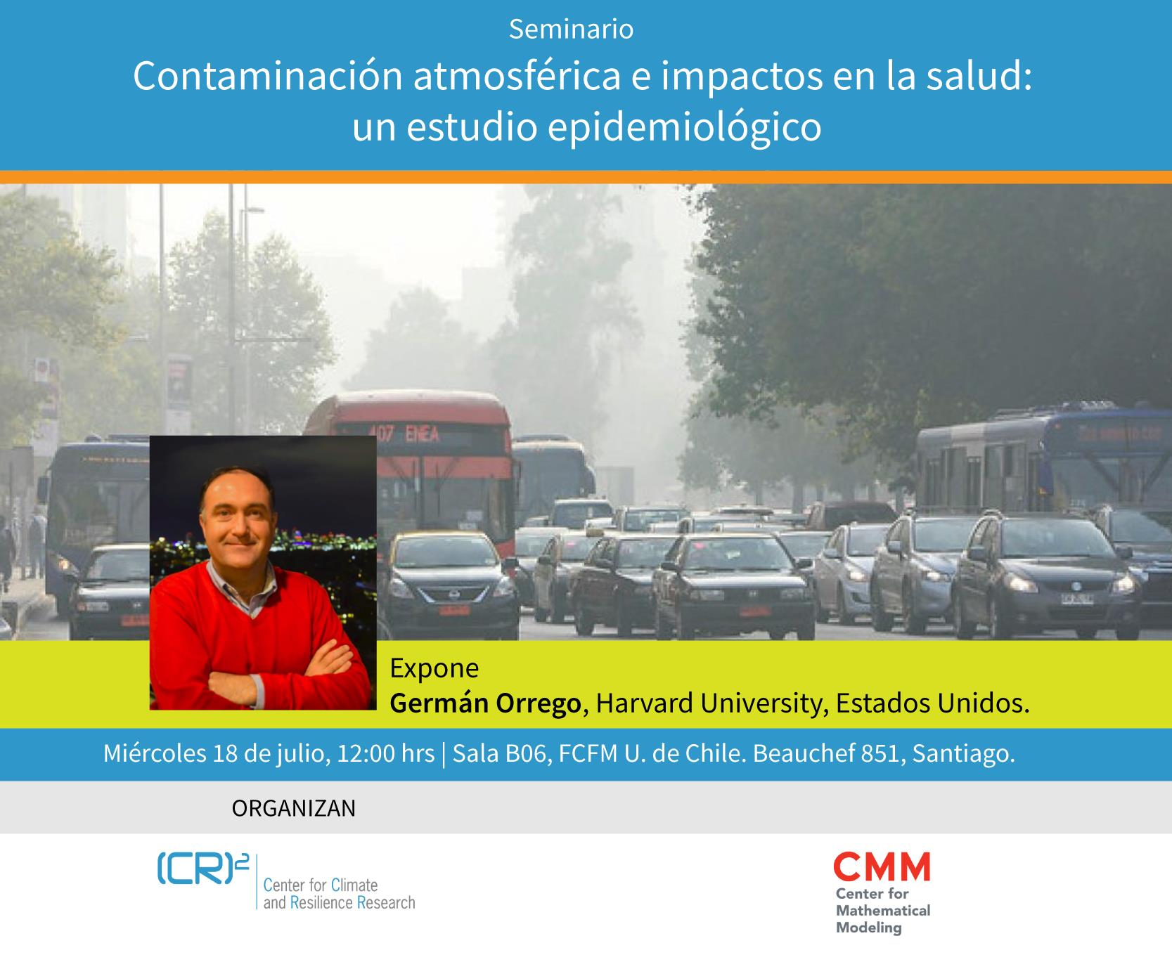 Seminario: Contaminación atmosférica e impactos en salud