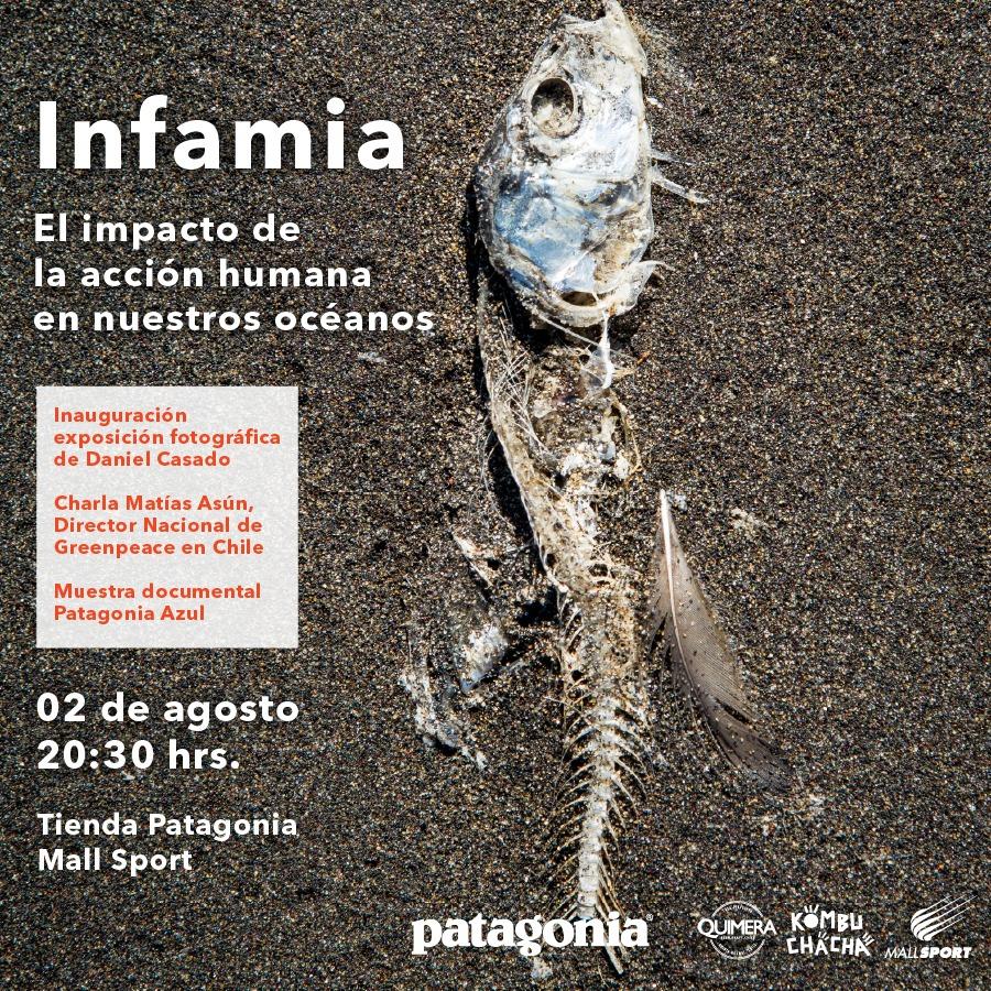 """Conversatorio: """"Infamia, el impacto de la acción humana en nuestros océanos"""""""
