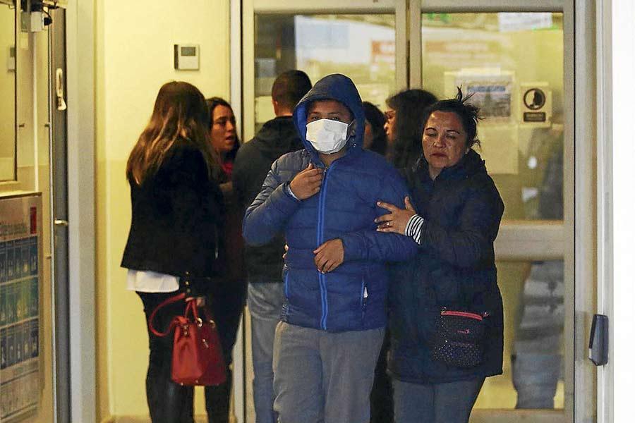 Se registran nuevos casos de intoxicación en Quintero durante la jornada de ayer