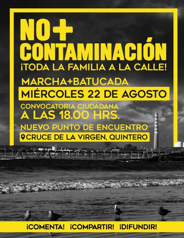 Marcha No + Contaminación