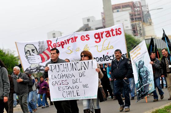 Zona de sacrificio: el poder empresarial que contamina las vidas de Quintero