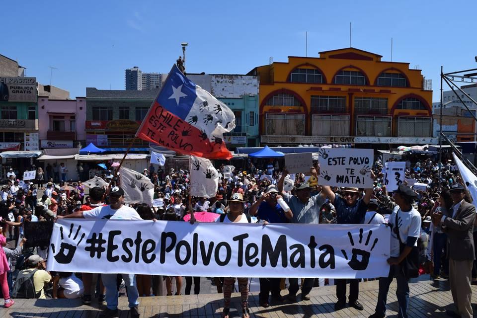 Piden que se declare a Antofagasta como zona saturada por contaminación de mineras