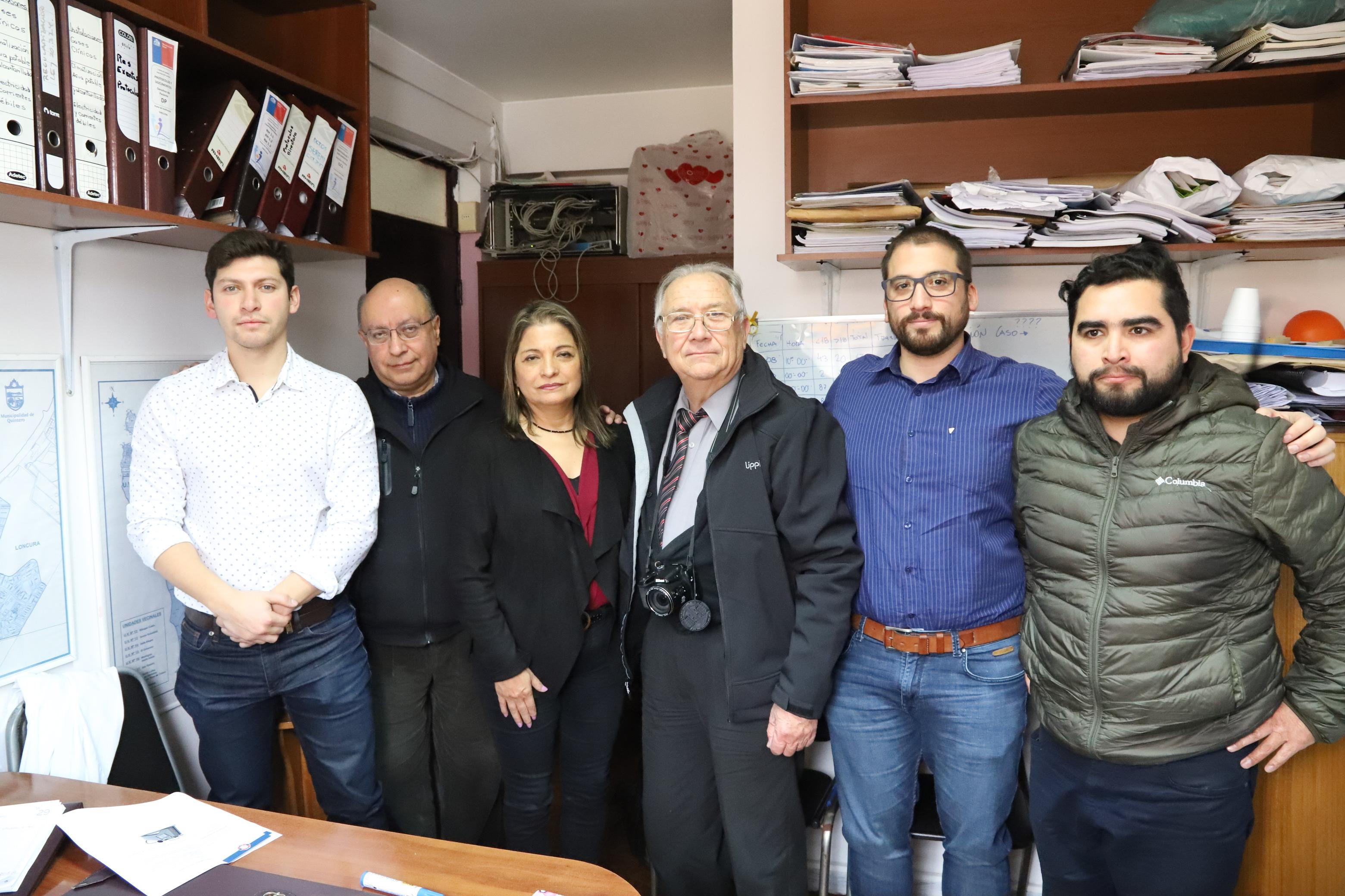 Colegio Médico realiza visita a Hospital de Quintero para conocer situación sanitaria