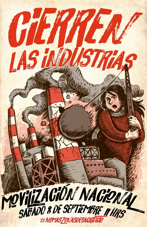 Movilización Nacional Bahía de Quintero: #CierrenLasIndustrias