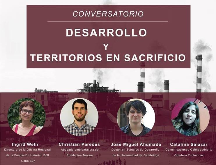 Conversatorio: Desarrollo y territorios de sacrificio