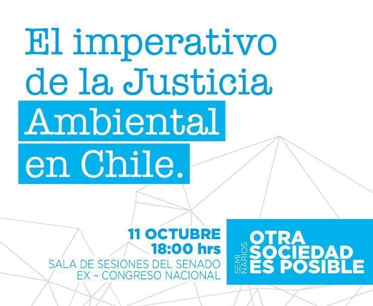Seminario El Imperativo de la Justicia Ambiental en Chile