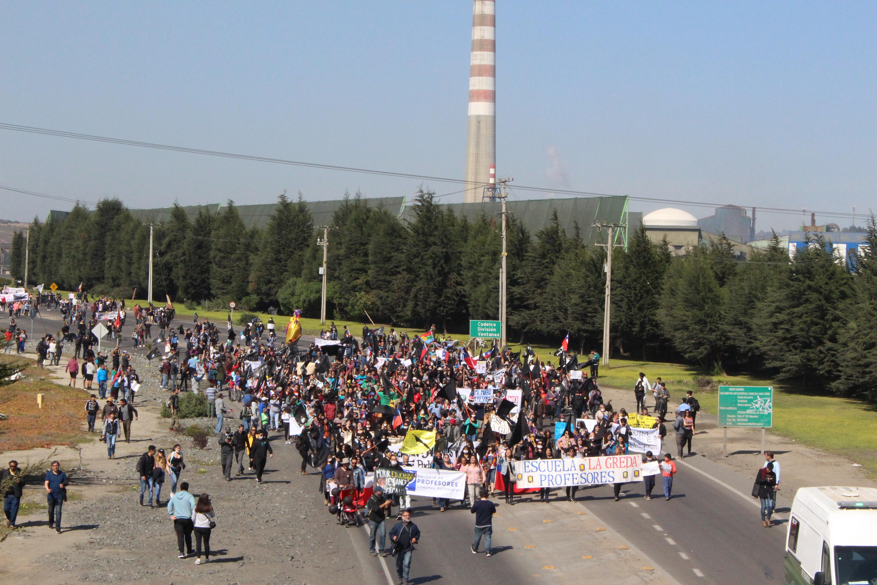 Gobierno anuncia nuevo protocolo ambiental para Quintero y Puchuncaví