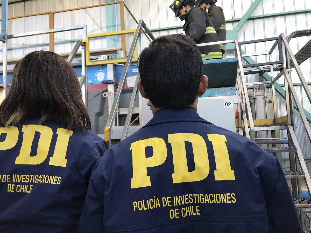 Peritos de PDI que tomaron muestras en Enap sufrieron intoxicación