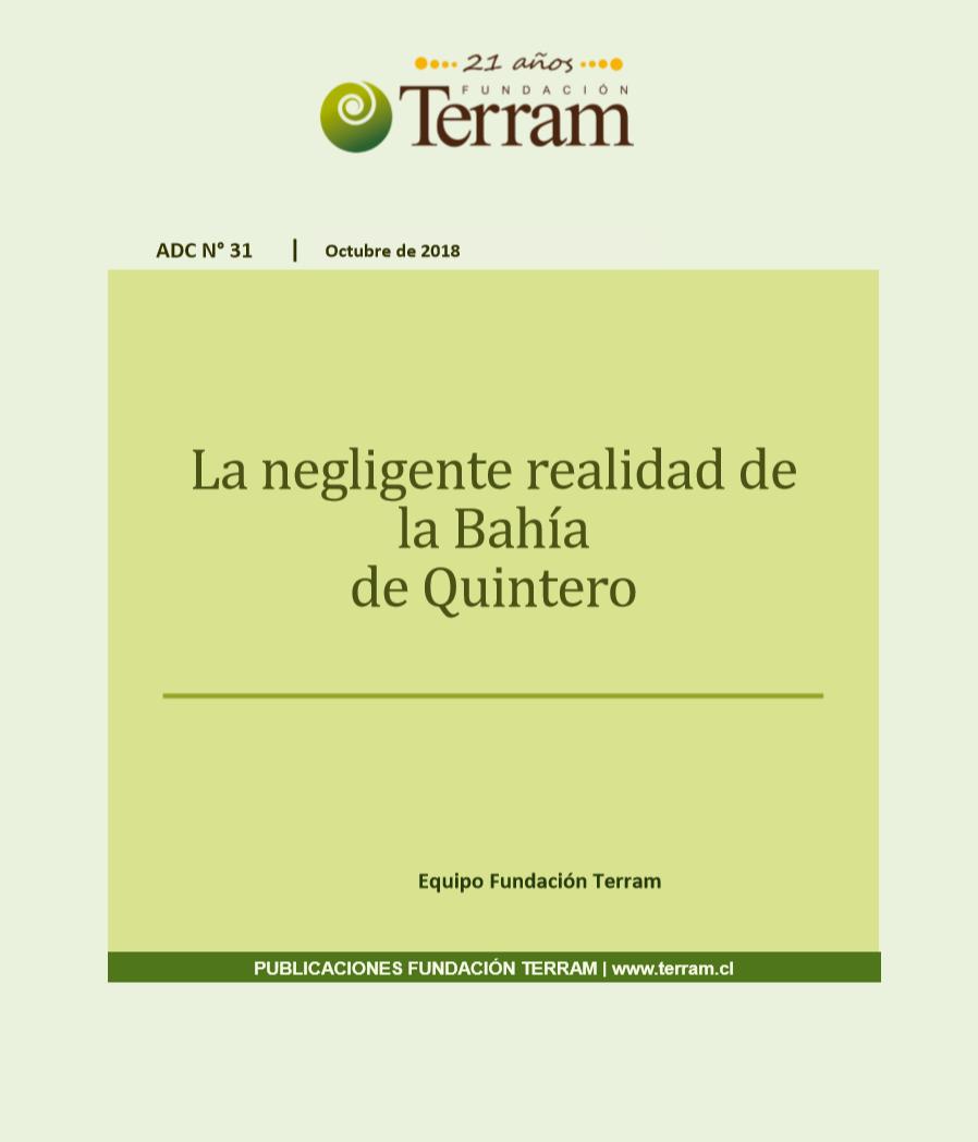 Documento: La negligente realidad de la Bahía de Quintero