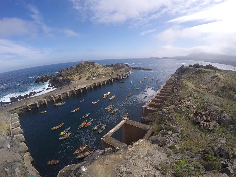 Puerto Minero Cruz Grande amenazaría los cultivos de mariscos más productivos del país