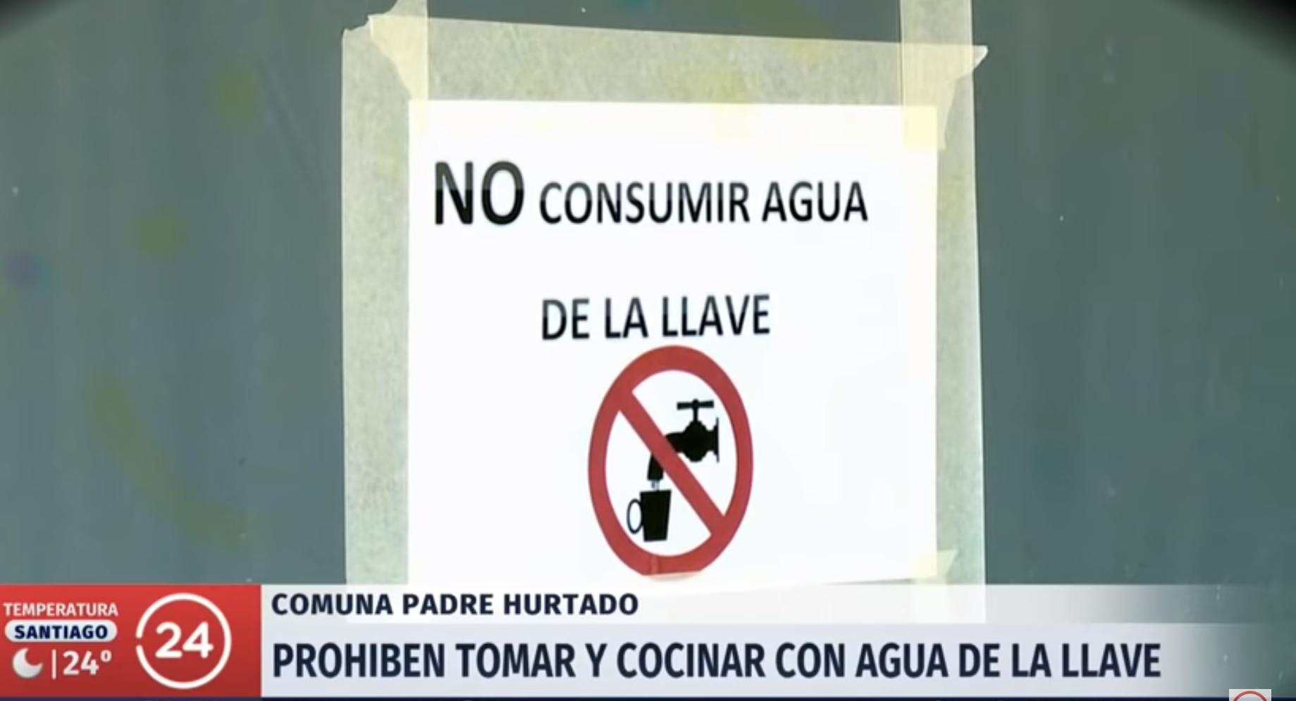 RM: Comunidades rurales denuncian contaminación del agua potable