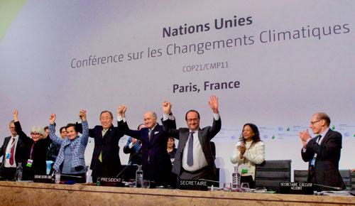 Abril: Proceso de firma del Acuerdo de París
