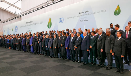 Noviembre: El Acuerdo de París entra en vigor
