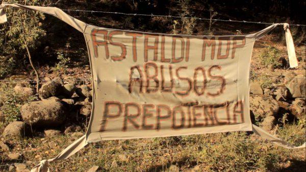 Irregular actuar de Astaldi marca la jornada de desalojos en San Fabián de Alico